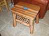 Click here to view a larger picture of the Cedar - Poured Epoxy Top End Table
