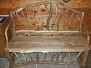 Click here to view a larger picture of the White Oak/Iron Wood - Bench